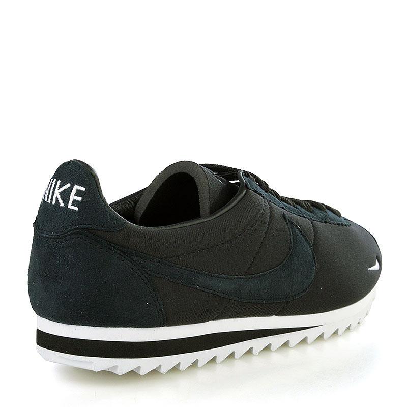 390201c4d209 мужские черные, белые кроссовки nike classic cortez shark low sp 810135-010  - цена