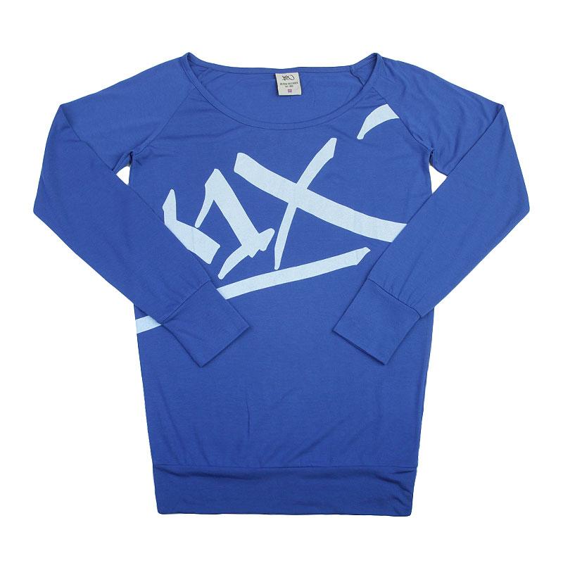 Лонгслив K1x wmns Easy Tag LongsleeveФутболки<br>Полиэстер, вискоза<br><br>Цвет: Синий<br>Размеры US: XS;S;M;L<br>Пол: Женский