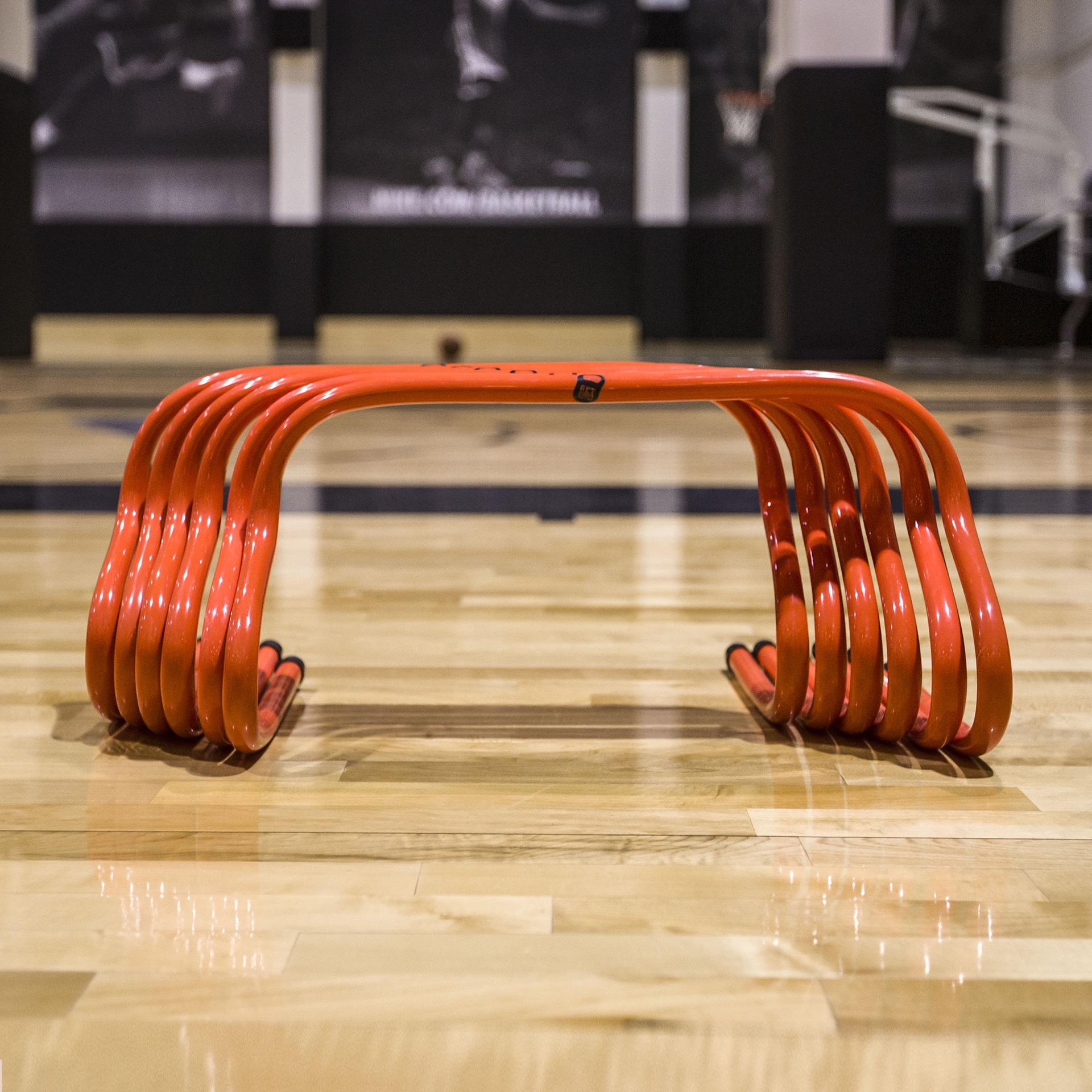 Купить оранжевый, черный  тренажёр get ripped gr not enough hurdles unadjst в магазинах Streetball изображение - 2 картинки