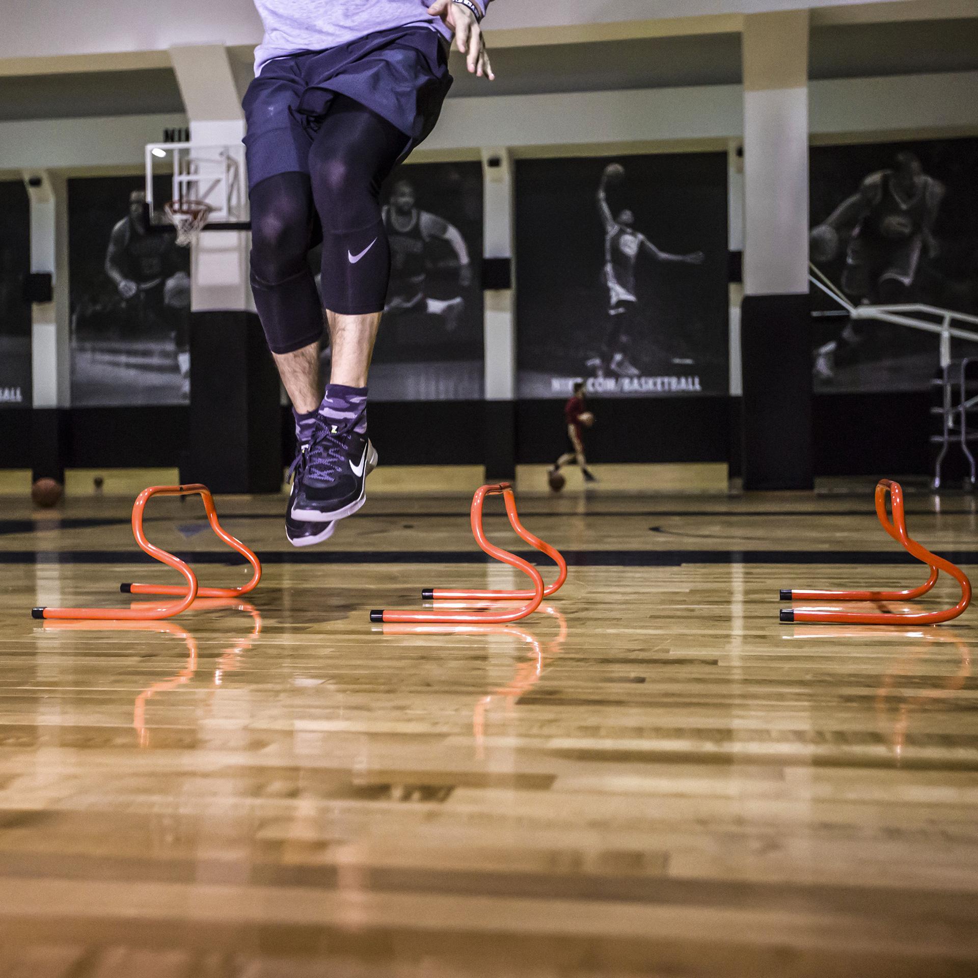 Купить оранжевый, черный  тренажёр get ripped gr not enough hurdles unadjst в магазинах Streetball изображение - 3 картинки