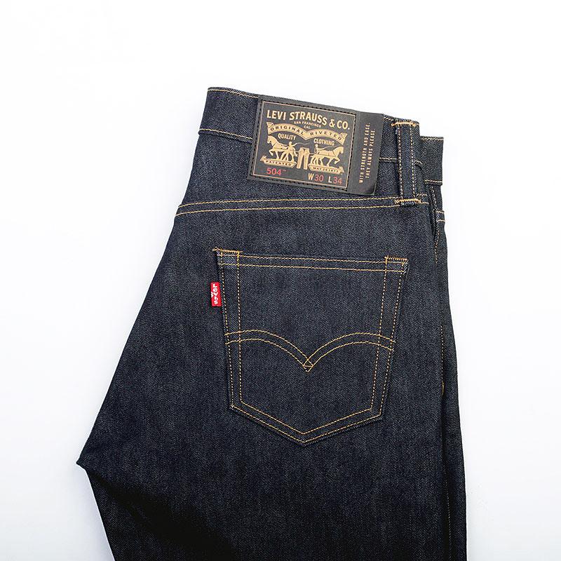 Джинсы Levi`s Skate 504 Jeans Rigid IndigoБрюки и джинсы<br>Хлопок, полиэстер, полиамид<br><br>Цвет: Черный<br>Размеры : 31/34<br>Пол: Мужской