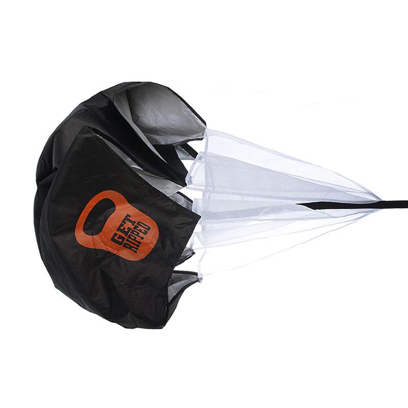 черный, белый  тренажёр get ripped gr no limits speed parachute GR-007-15 - цена, описание, фото 1