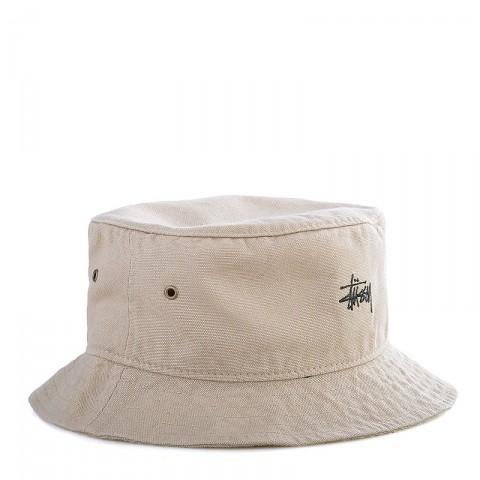 Купить мужскую хаки  панама stussy smooth crusher bucket hat в магазинах Streetball - изображение 1 картинки