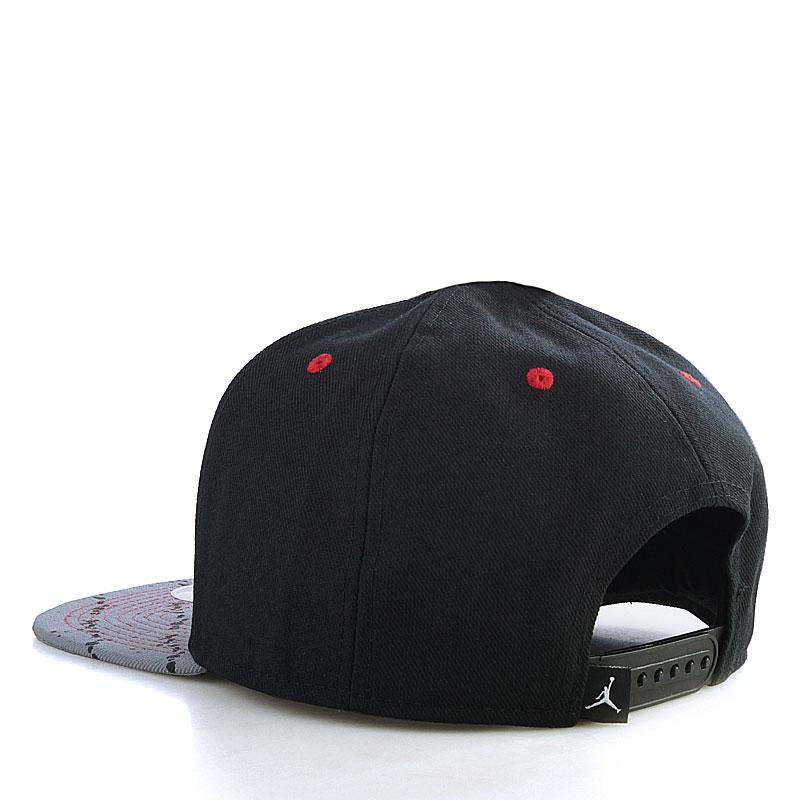 Купить мужскую черную  кепка jordan stencil в магазинах Streetball изображение - 2 картинки