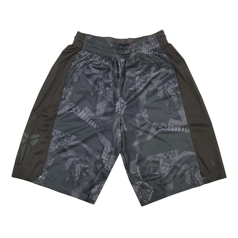 Шорты Nike Kobe EliteШорты<br>100% полиэстер<br><br>Цвет: Черный, серый<br>Размеры US: 2XL