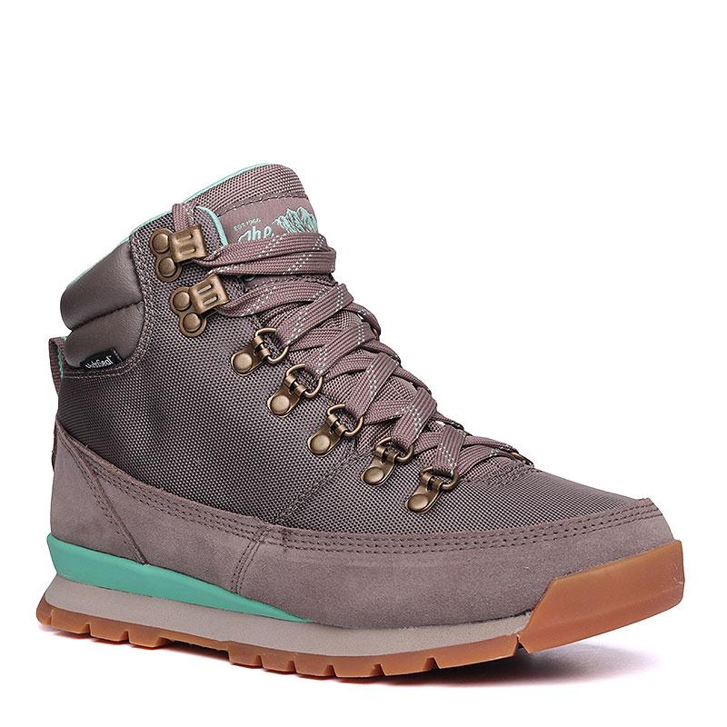 Купить женские серые, мятные  ботинки the north face back-to-berkeley redux в магазинах Streetball изображение - 1 картинки