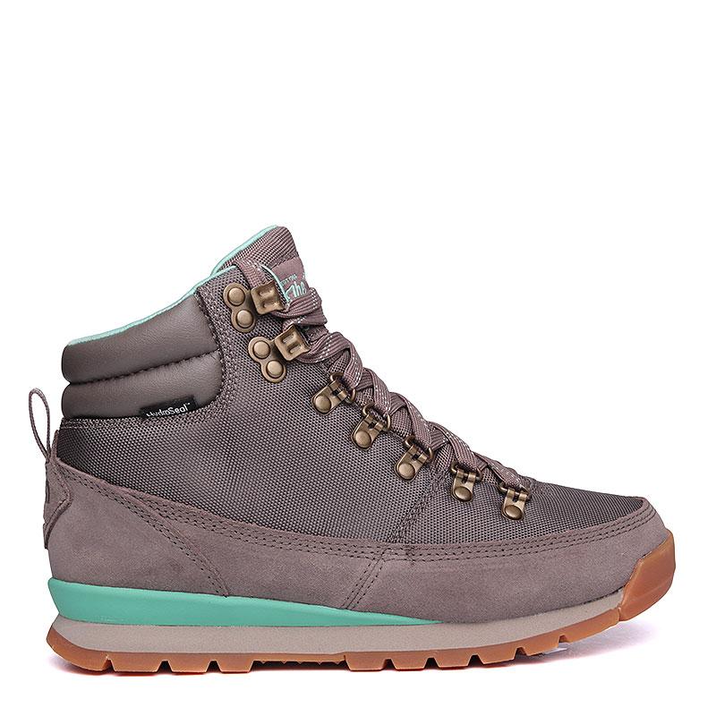 Купить женские серые, мятные  ботинки the north face back-to-berkeley redux в магазинах Streetball изображение - 2 картинки