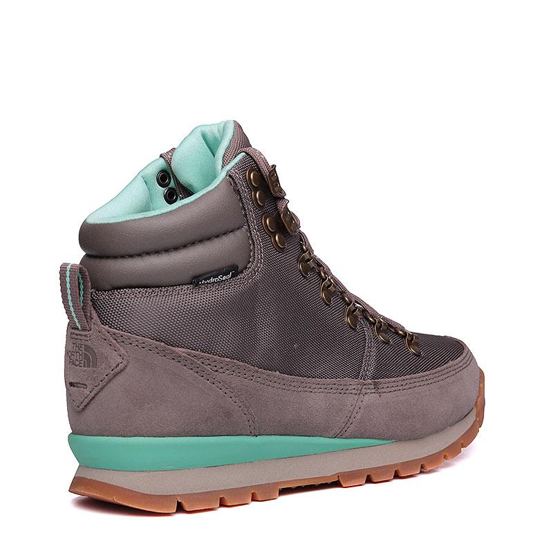 Купить женские серые, мятные  ботинки the north face back-to-berkeley redux в магазинах Streetball изображение - 3 картинки