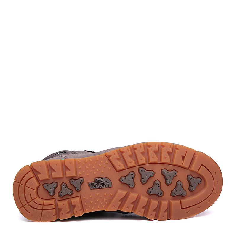 Купить женские серые, мятные  ботинки the north face back-to-berkeley redux в магазинах Streetball изображение - 4 картинки