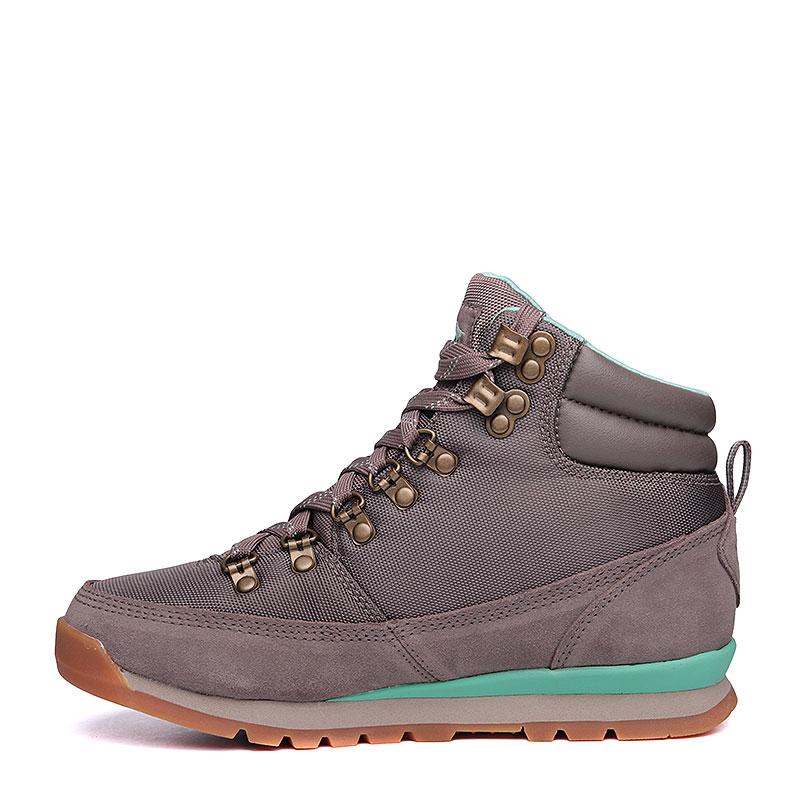 Купить женские серые, мятные  ботинки the north face back-to-berkeley redux в магазинах Streetball изображение - 5 картинки
