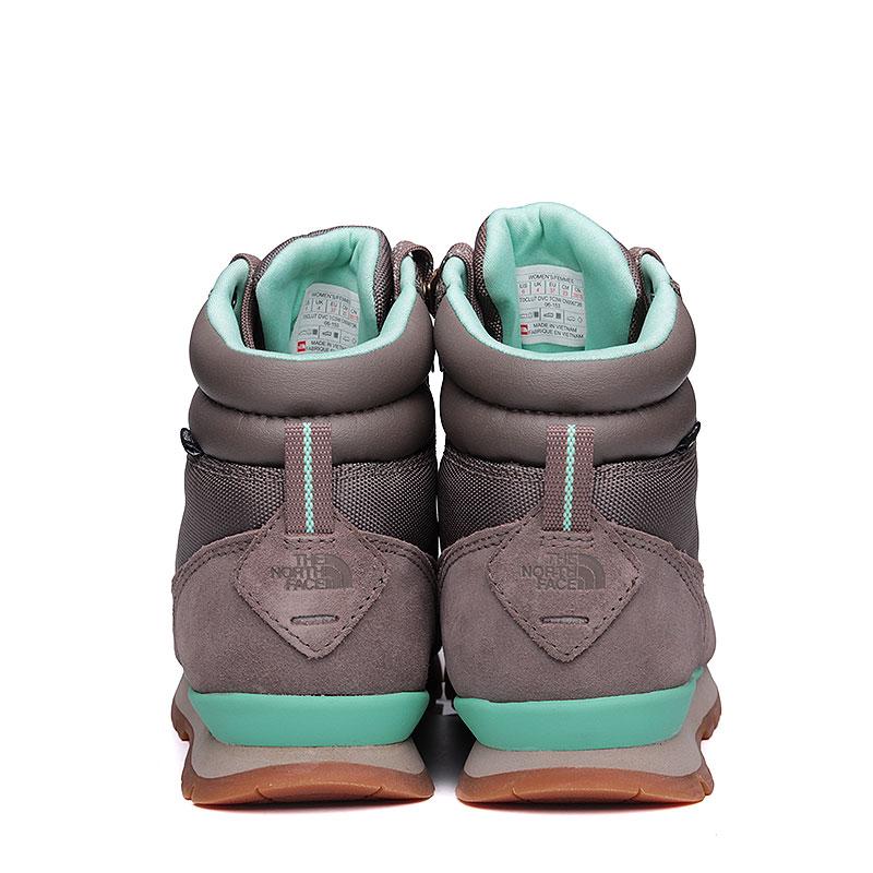 Купить женские серые, мятные  ботинки the north face back-to-berkeley redux в магазинах Streetball изображение - 6 картинки