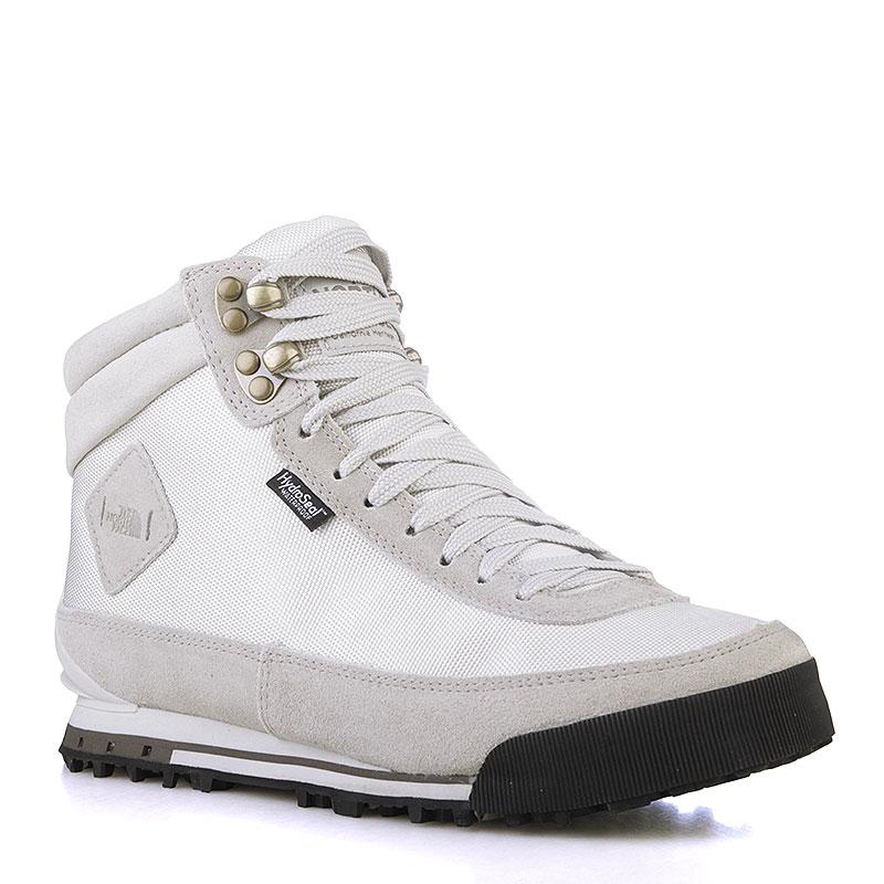 Ботинки The North Face Back-to-Berkeley Boot IIБотинки<br>Замша, текстиль, резина<br><br>Цвет: Белый, серый<br>Размеры US: 6.5;8.5