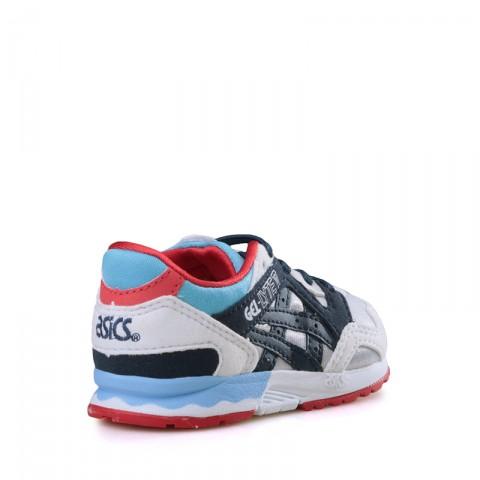 детские синие, белые, красные  кроссовки asics gel-lyte v C539N-1050 - цена, описание, фото 2