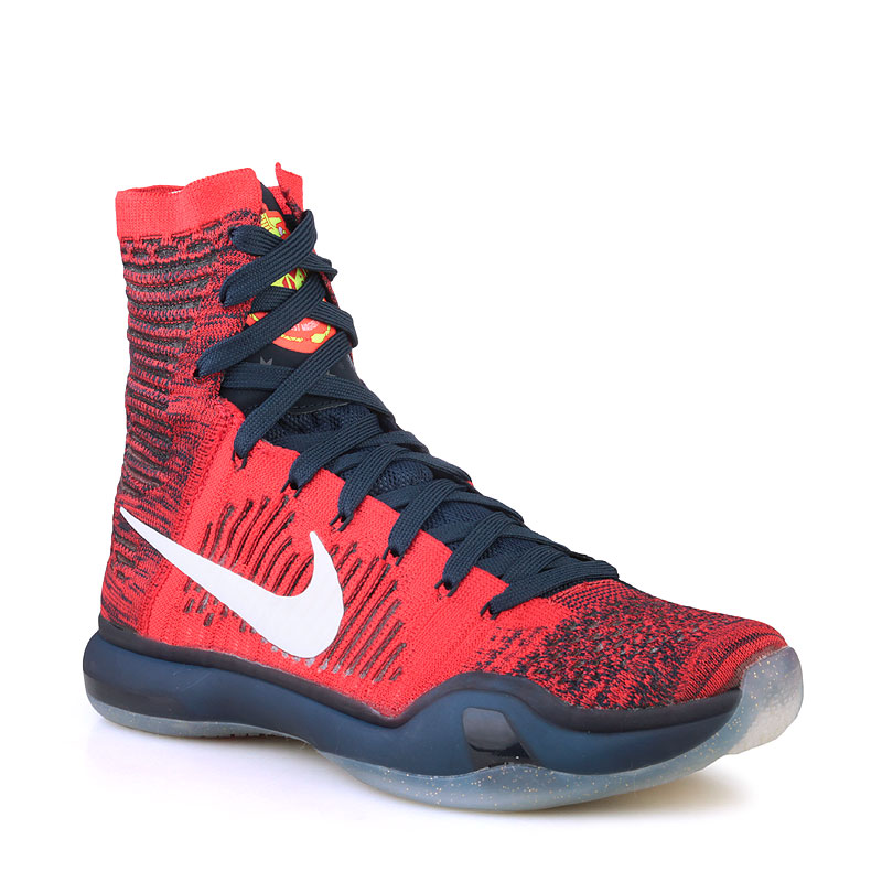 6e7cd238 мужские красные кроссовки nike kobe x elite 718763-614 - цена, описание,  фото