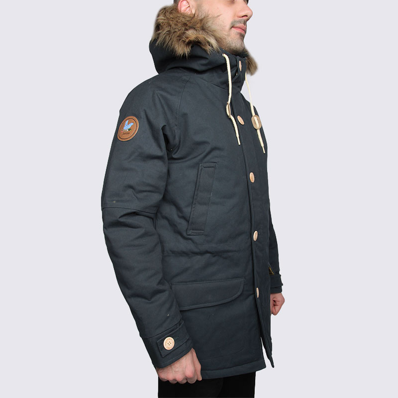 Куртка Запорожец heritage Ditch ParkaКуртки, пуховики<br>Хлопок, полиэстер, полиэфир<br><br>Цвет: Синий<br>Размеры : S;M;L<br>Пол: Мужской