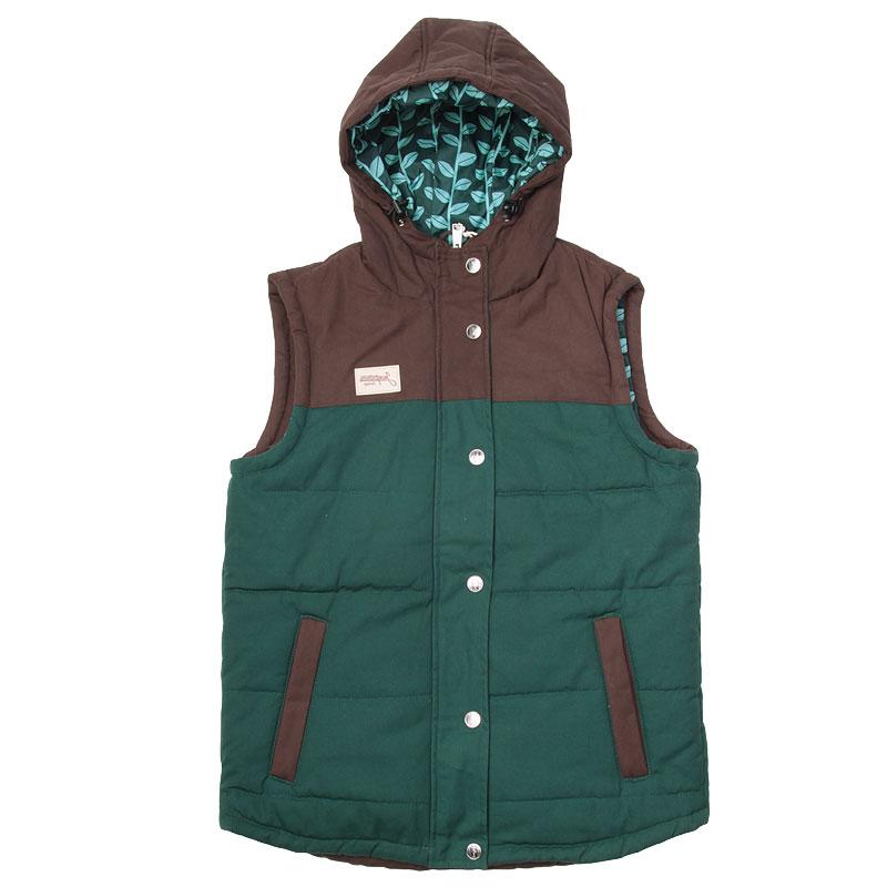 Жилет Запорожец heritage Duck Vest GreenКуртки, пуховики<br>Хлопок, полиэстер, полиэфир<br><br>Цвет: Коричневый<br>Размеры : XS<br>Пол: Мужской