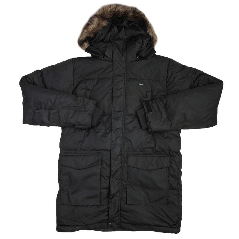 Куртка K1X Goosebump DefenderКуртки, пуховики<br>Полиэстер,полиэфир<br>Набивка: 50% пух, 50% перо<br><br>Цвет: Черный<br>Размеры US: XL;2XL<br>Пол: Мужской