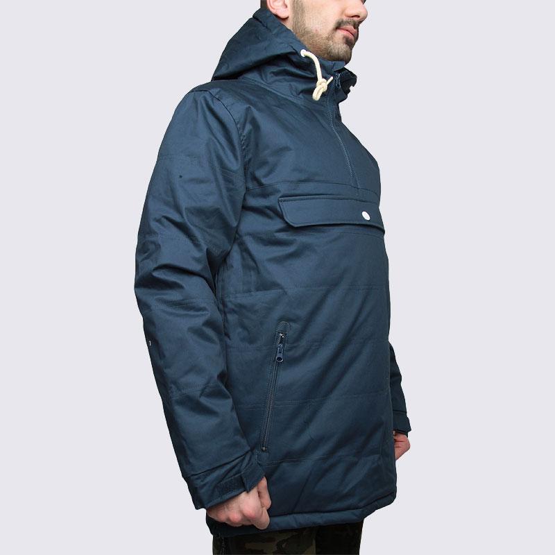 Купить мужскую синюю  куртку true spin анорак cloud jacket blue в магазинах Streetball изображение - 4 картинки