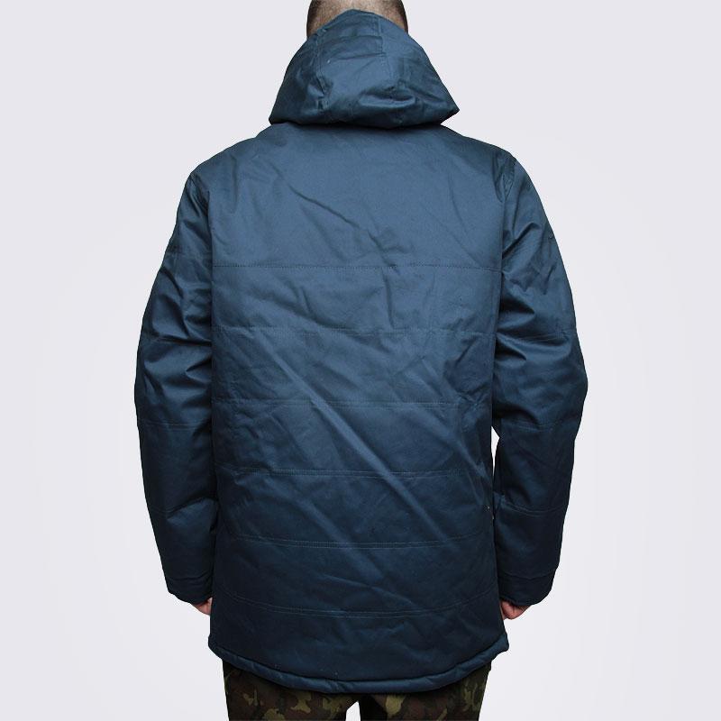 Купить мужскую синюю  куртку true spin анорак cloud jacket blue в магазинах Streetball изображение - 5 картинки
