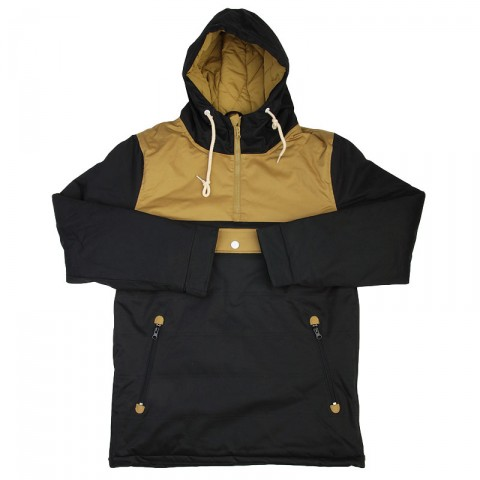 Анорак Cloud Jacket Blk/Bge True spin