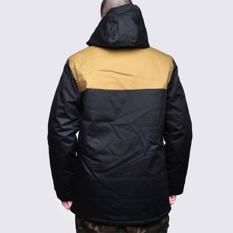 мужскую черную  куртку true spin анорак cloud jacket blk/bge Cloud Jacket-blk/bge - цена, описание, фото 5
