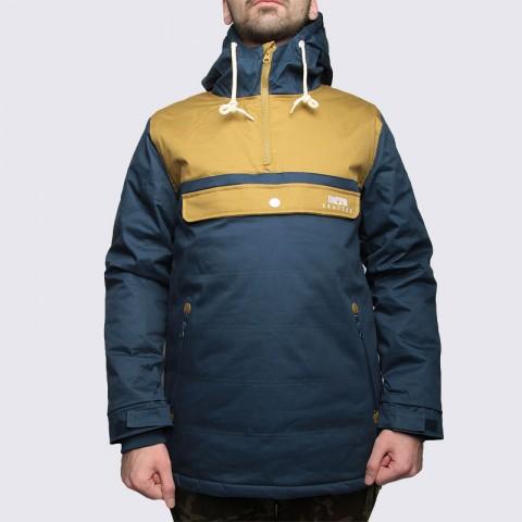 Купить мужскую синюю  куртку true spin анорак cloud jacket blue/bge в магазинах Streetball - изображение 3 картинки