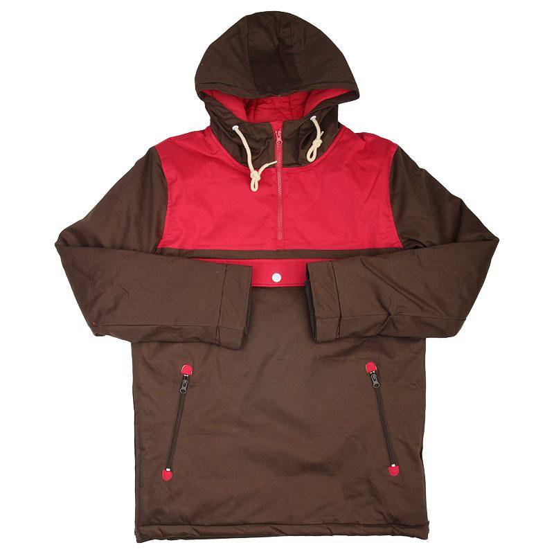 Куртка True spin Анорак Cloud JacketКуртки, пуховики<br>Полиэстер<br><br>Цвет: Коричневый<br>Размеры : XS;S;M;L<br>Пол: Мужской