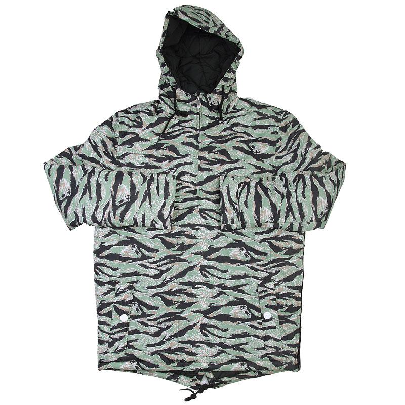 Куртка True spin Анорак Fishtail CamoКуртки, пуховики<br>Полиэстер<br><br>Цвет: Зеленый<br>Размеры : S;XL<br>Пол: Мужской