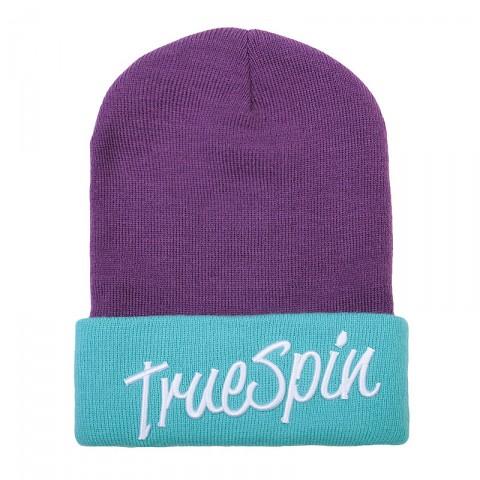 Купить фиолетовую, голубую  шапка true spin st 2 tone в магазинах Streetball - изображение 1 картинки