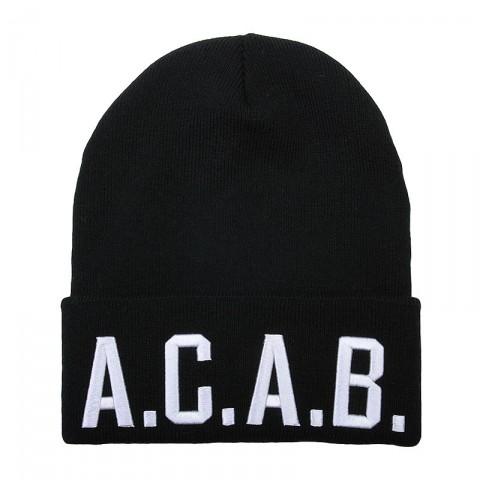 Купить черную, белую  шапка true spin acab в магазинах Streetball - изображение 1 картинки