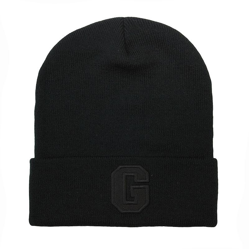 Купить черную  шапка true spin abc beanie в магазинах Streetball изображение - 1 картинки