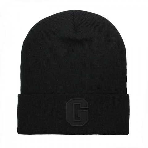 черную  шапка true spin abc beanie ABC FW15-blk/blk-G - цена, описание, фото 1