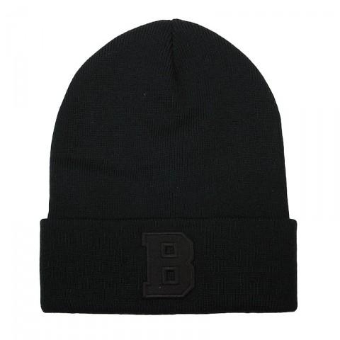 черную  шапка true spin abc beanie ABC FW15-blk/blk-B - цена, описание, фото 1