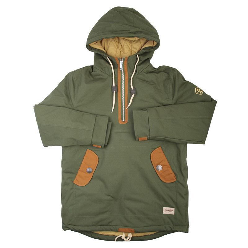 Куртка Запорожец heritage Анорак Retro - OliveКуртки, пуховики<br>Хлопок, полиэстер<br><br>Цвет: Зеленый<br>Размеры : S;M;L<br>Пол: Мужской