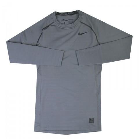 мужскую серую  футболка nike pro hyperwarm 659800-065 - цена, описание, фото 1