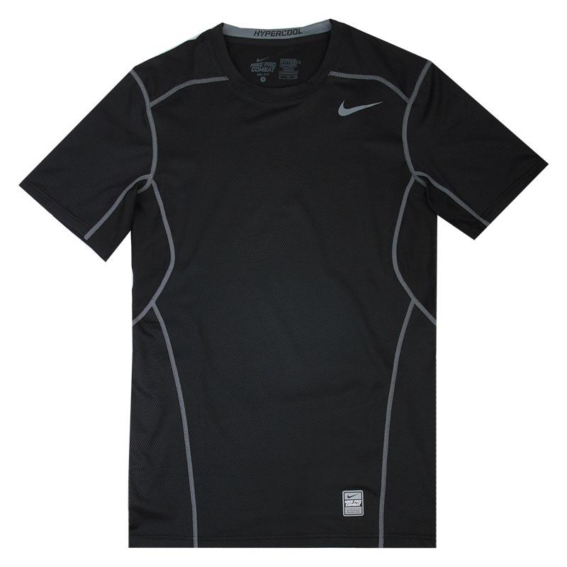 Футболка Nike Hypercool FTTDКомпрессионное белье<br>92% полиэстер, 8% эластан<br><br>Цвет: Черный<br>Размеры US: M;L;2XL<br>Пол: Мужской