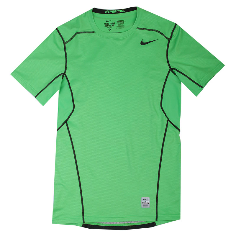 Футболка Nike Hypercool FTTDКомпрессионное белье<br>92% полиэстер, 8% эластан<br><br>Цвет: Зеленый<br>Размеры US: S;M;L;XL;2XL<br>Пол: Мужской