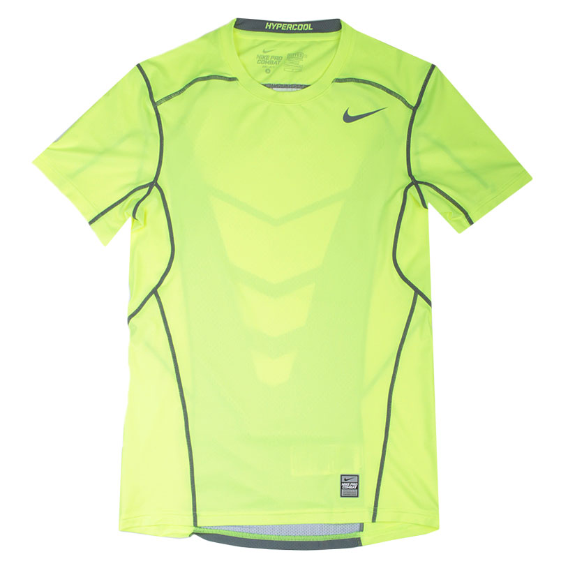 Футболка Nike Hypercool FTTDКомпрессионное белье<br>Полиэстер 92%, эластан 8%<br><br>Цвет: Желтый<br>Размеры US: S;M;L;XL;2XL<br>Пол: Мужской