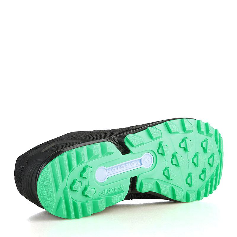 мужские чёрные, зелёные, серые, фиолетовые  кроссовки adidas zx flux rs AF6341 - цена, описание, фото 4