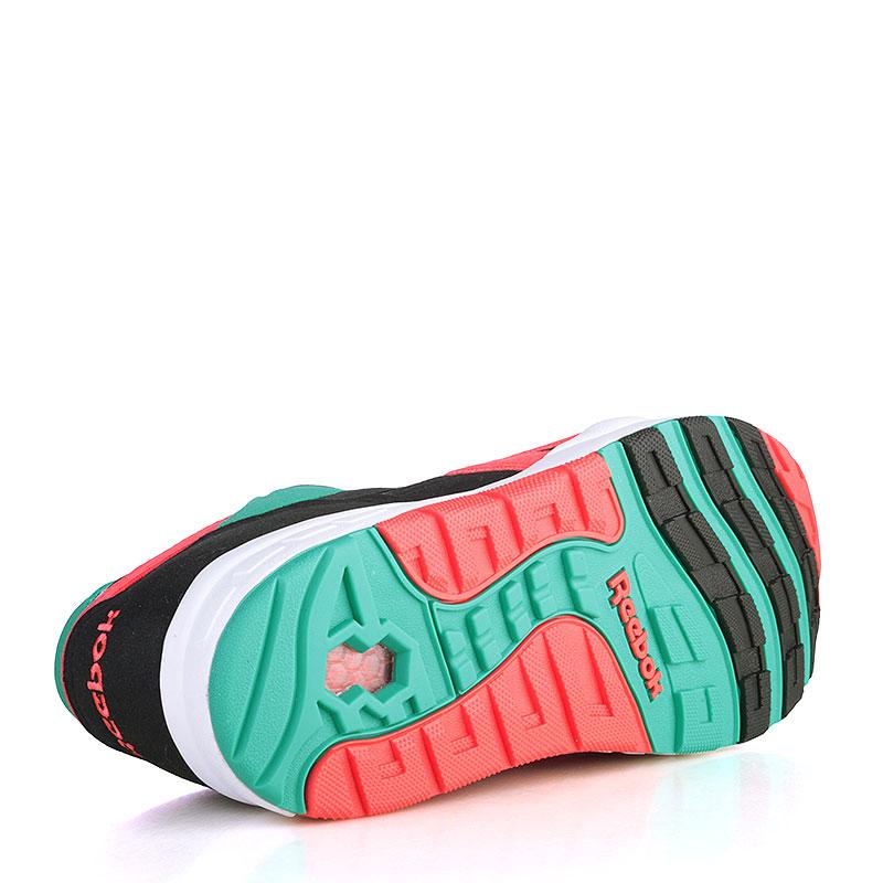 Купить мужские чёрные, зелёные, коралловые, белые  кроссовки reebok ventilator supreme в магазинах Streetball изображение - 4 картинки