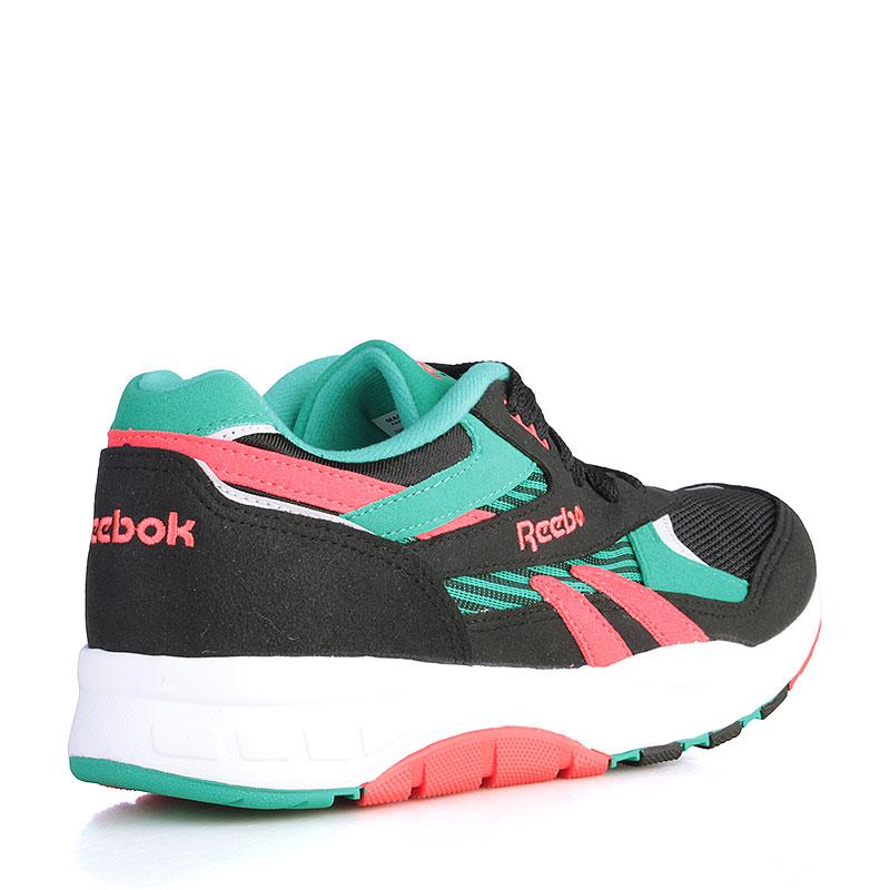 Купить мужские чёрные, зелёные, коралловые, белые  кроссовки reebok ventilator supreme в магазинах Streetball изображение - 2 картинки