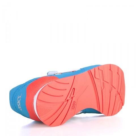 Купить детские голубые, белые, коралловые  кроссовки asics tiger pre-atlantis ps в магазинах Streetball - изображение 4 картинки