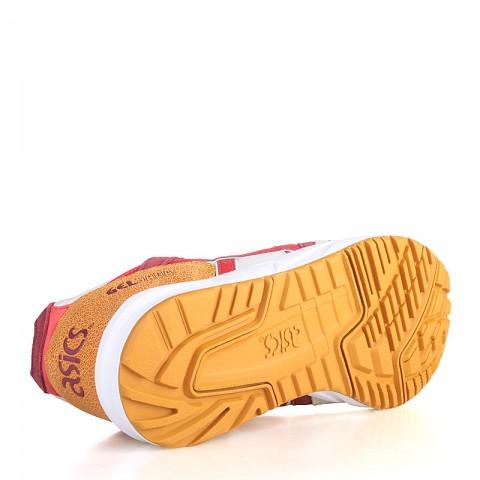 женские белые, розовые, красные, бордовые, коричневые  кроссовки asics tiger gel saga H5Q5N-0223 - цена, описание, фото 4