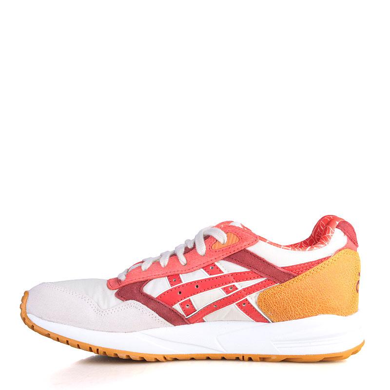 женские белые, розовые, красные, бордовые, коричневые  кроссовки asics tiger gel saga H5Q5N-0223 - цена, описание, фото 3