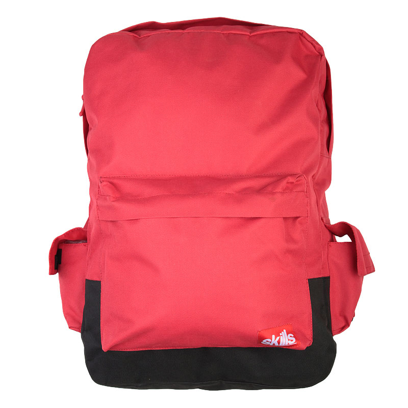 Рюкзак SkillsСумки, рюкзаки<br><br><br>Цвет: Красный<br>Размеры : OS