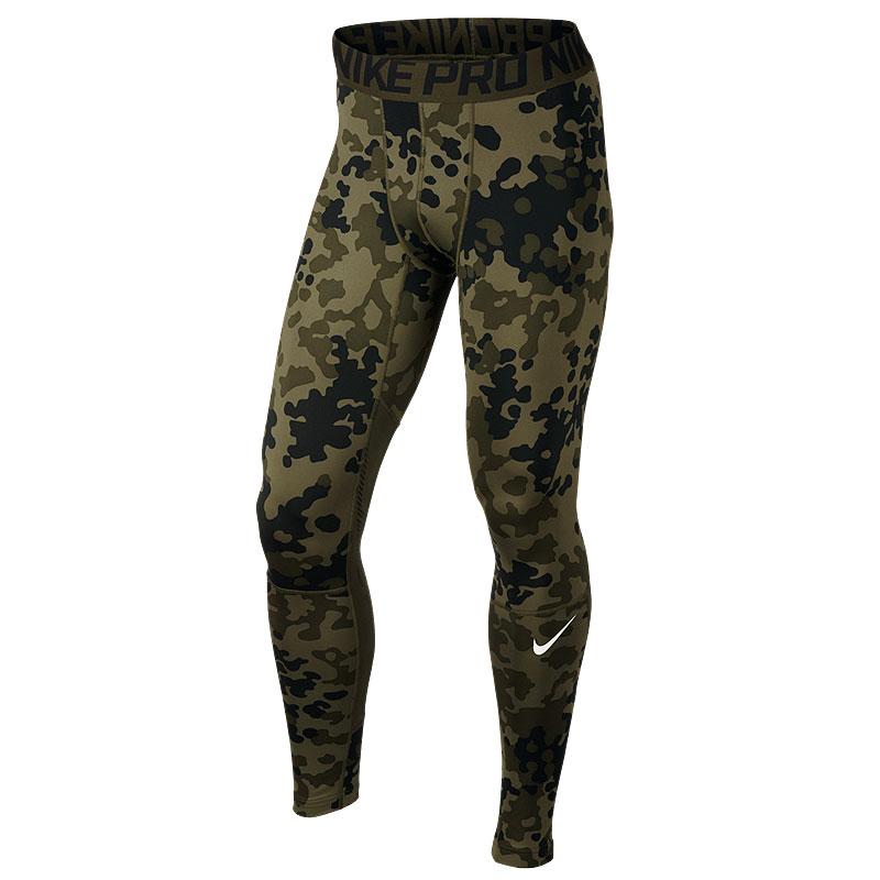 Брюки Nike Hyper WarmКомпрессионное белье<br>88% полиэстер 12% эластан<br><br>Цвет: Зеленый<br>Размеры US: S;L;2XL<br>Пол: Мужской