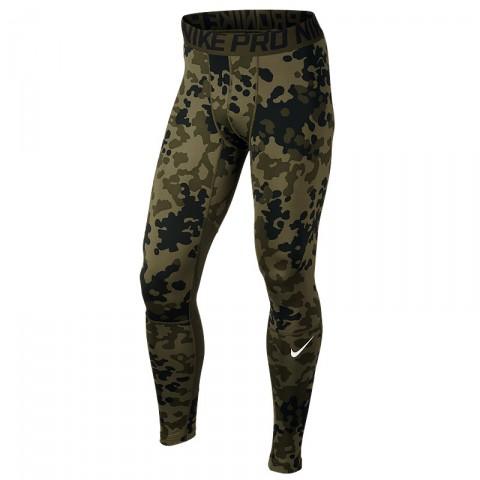 мужские зеленые  брюки nike hyper warm 699972-325 - цена, описание, фото 1