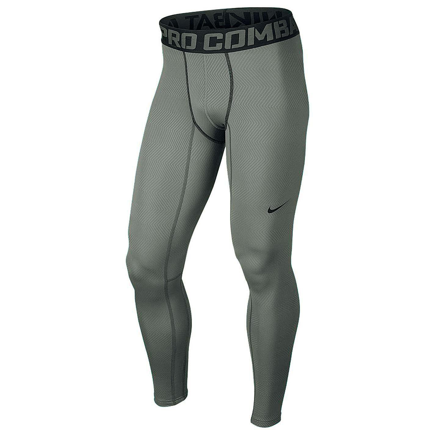 мужские серые  брюки nike hyperwarm lite 596297-065 - цена, описание, фото 1