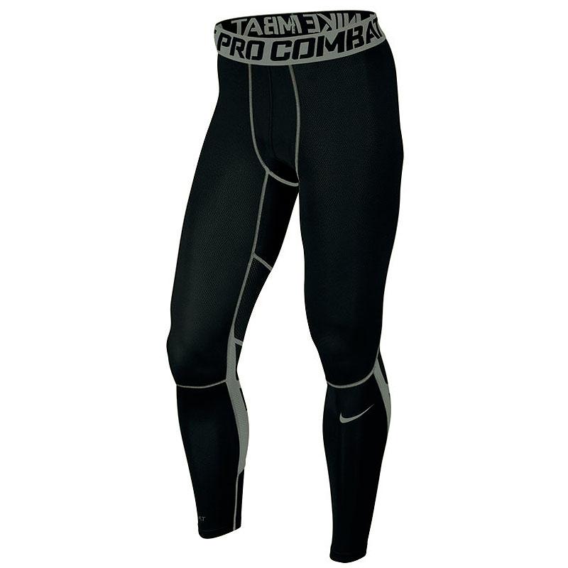Брюки Nike Hypercool TightКомпрессионное белье<br>92% полиэстер ,6% эластан<br><br>Цвет: Черный<br>Размеры US: M<br>Пол: Мужской