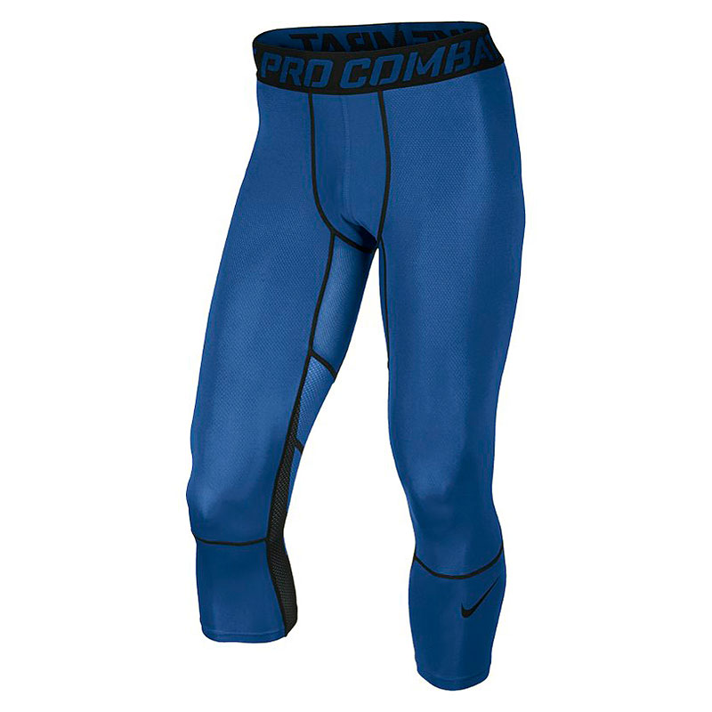 Шорты Nike Hypercool 3/4Компрессионное белье<br>91% полиэстер , 9% эластан<br><br>Цвет: Синий<br>Размеры US: S;XL;2XL<br>Пол: Мужской
